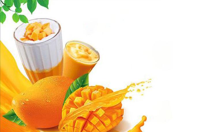 芒果椰果酱