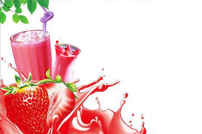 草莓椰果酱